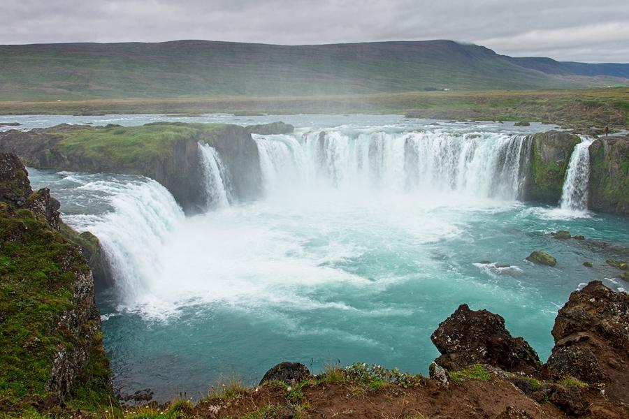 Godafoss, Islandia agosto 2018