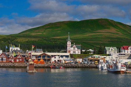 Húsavik, Islandia agosto 2018