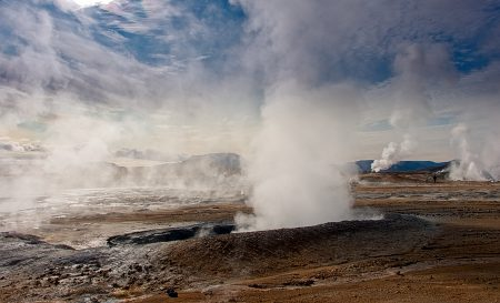 Hverir, Islandia agosto 2018
