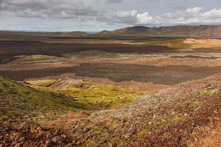 Campos de lava, Krafla, Islandia agosto 2018