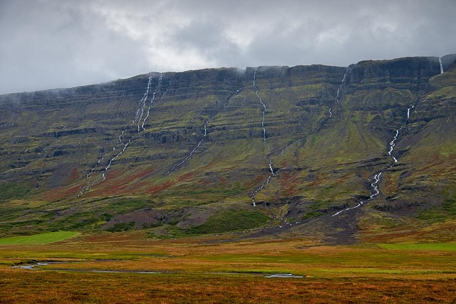 Breiðdalur, Islandia agosto 2018
