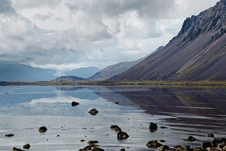 Vatnajökull desde Stokknes, Islandia agosto 2018
