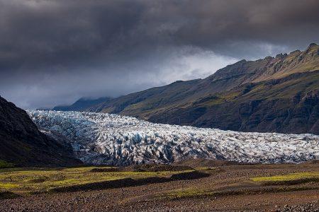 Fláajökull, Islandia agosto 2018