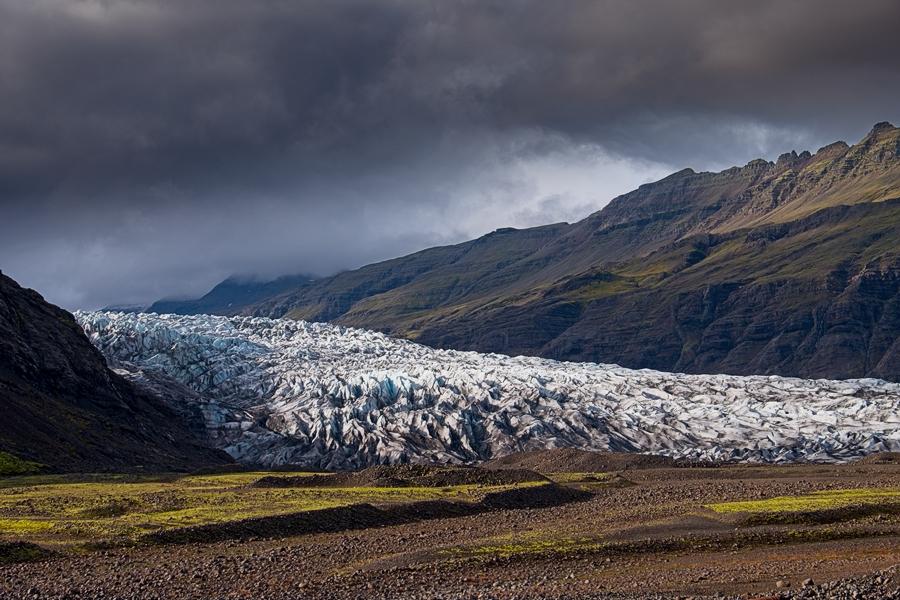 Flaajokull, Islandia agosto 2018