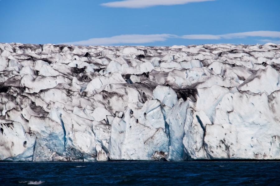 Glaciar, Islandia agosto 2018