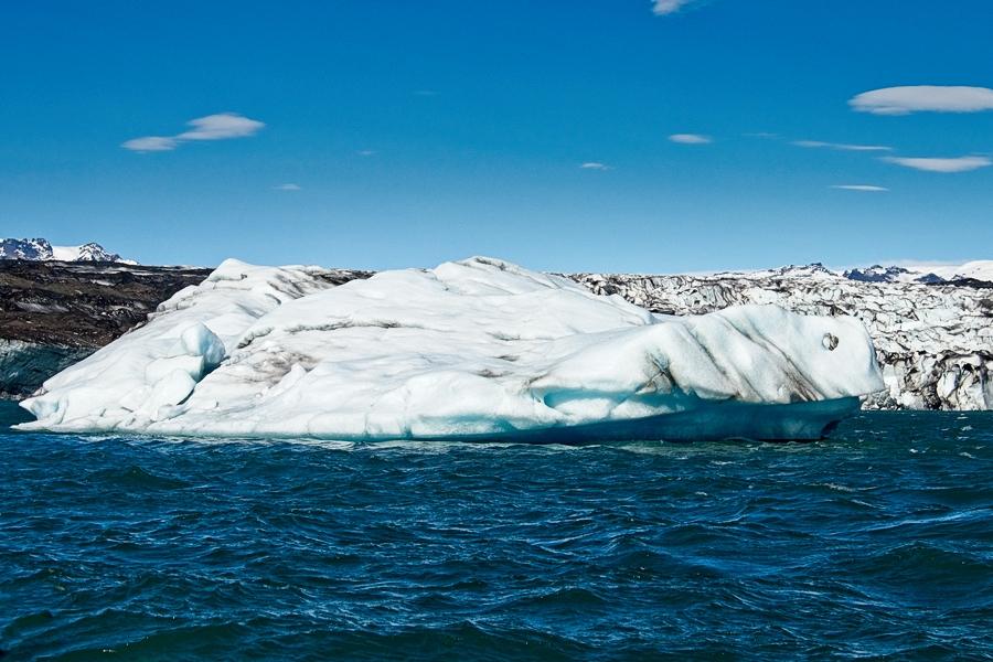 Monstruo de hielo, Islandia agosto 2018
