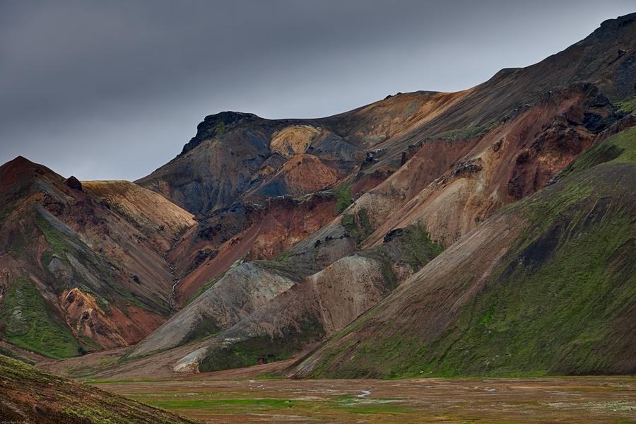 Riolita, Islandia agosto 2018