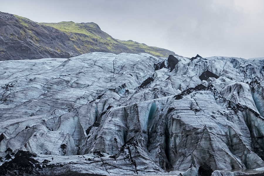 Sólheimajökull , Islandia agosto 2018