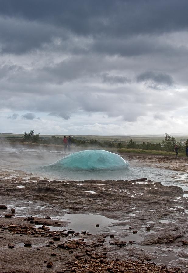 Strokkur I, Islandia septiembre 2018