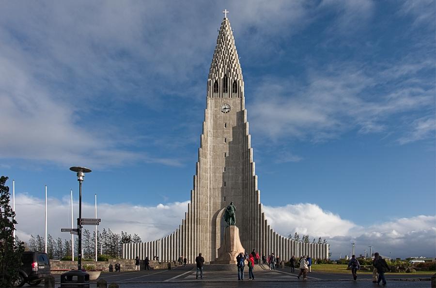 Hallgrímskirkja, Islandia septiembre 2018