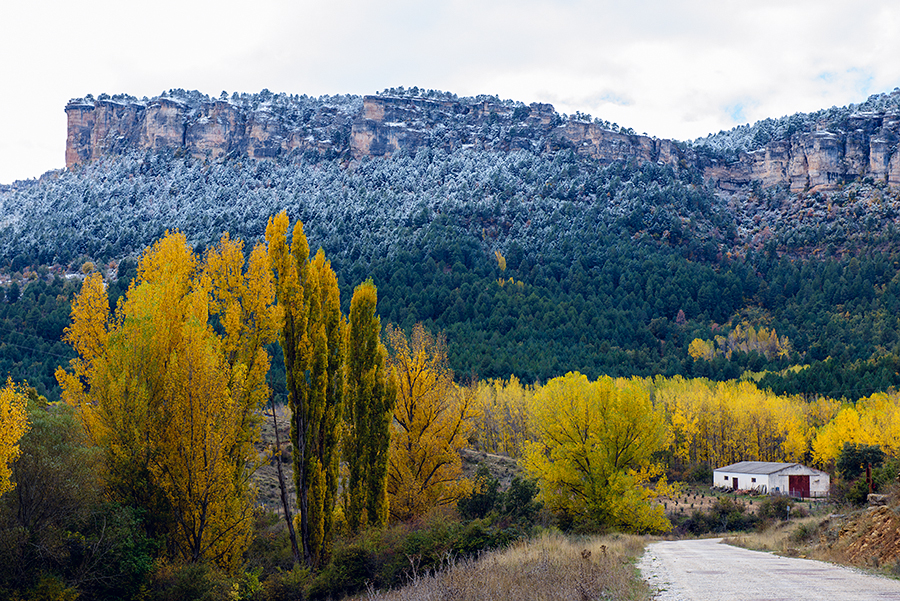 Invierno en el otoño, octubre 2018