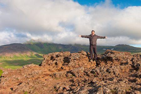 Garmayen y la felicidad, Islandia agosto 2018