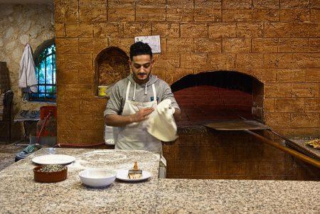 Pan de pita, Jordania diciembre 2018