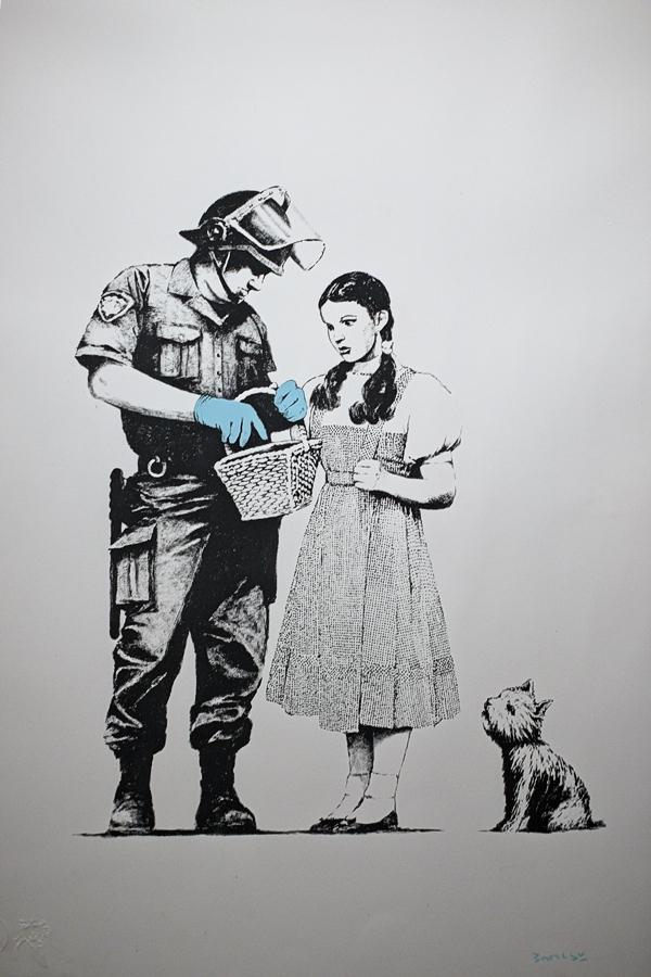 Banksy, Madrid marzo 2019