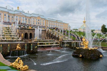 Palacio de Peterhof, julio 2019