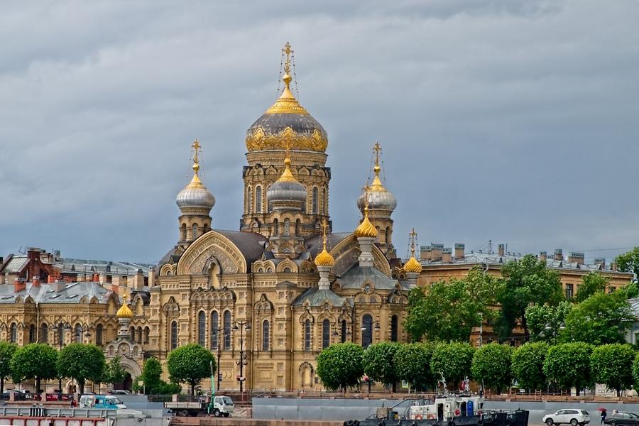Iglesia de la Asunción, San Petersburgo, julio 2019