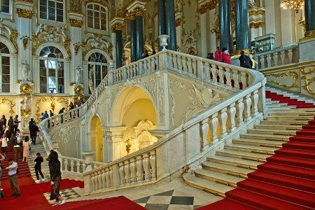 Escalera de L'Hermitage, julio 2019