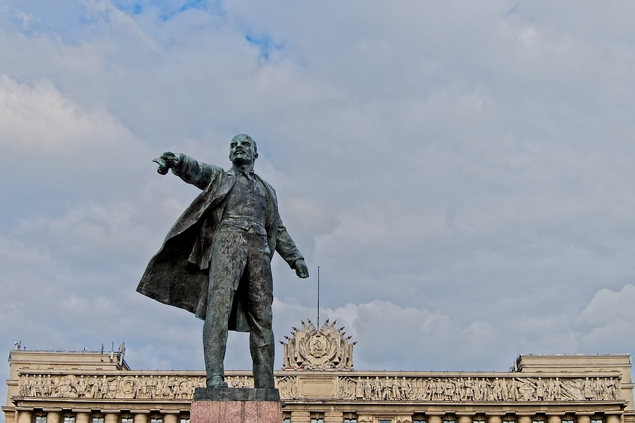 Lenin, San Petersburgo, julio 2019