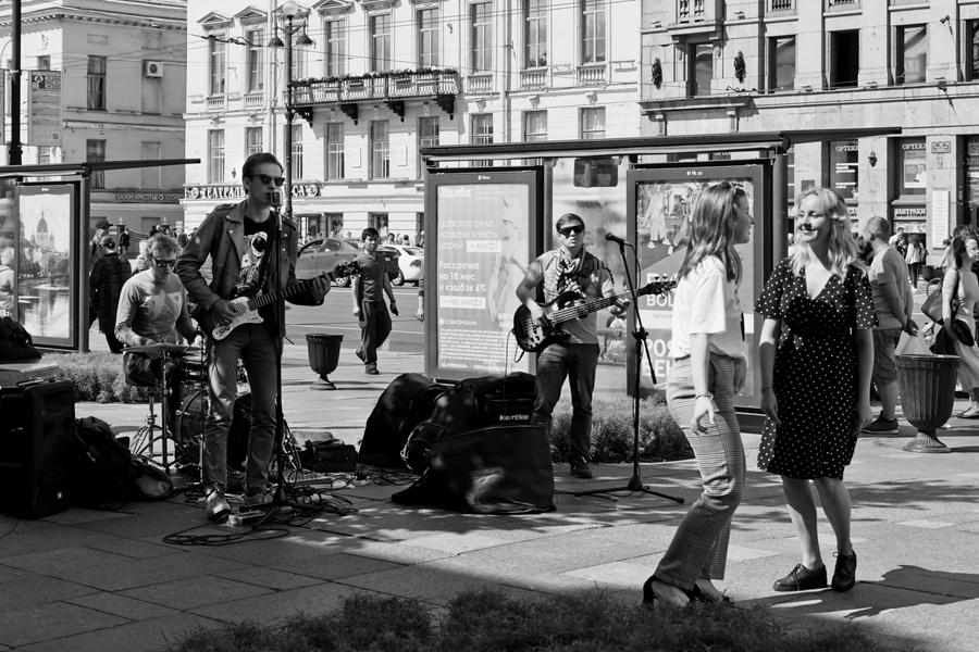 Avenida Nevsky San Petersburgo, julio 2019