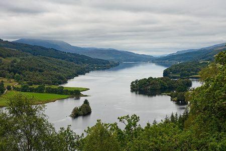 Loch Tummel, Queen's View septiembre 2019
