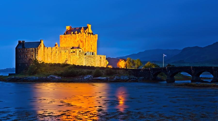 Castillo de Eilean Donan, septiembre de 2019