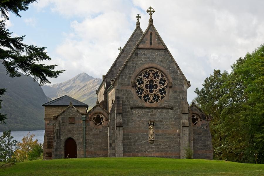 Church St Mary and St Finnan, Genfinnan, septiembre 2019