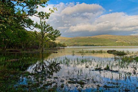 Loch Lommond, Escocia, septiembre 2019