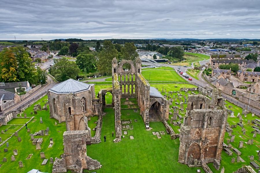 Elgin, Escocia septiembre 2019