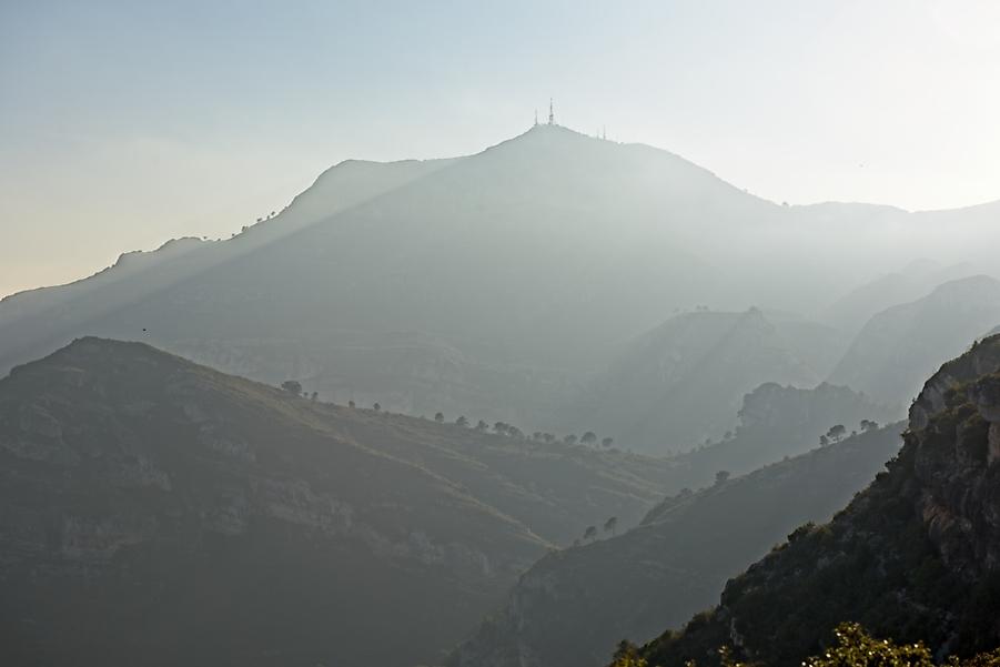 Montañas de La Safor, diciembre 2019