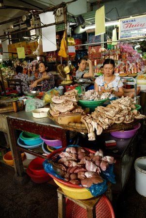 Mercado de Hue, abril 2011