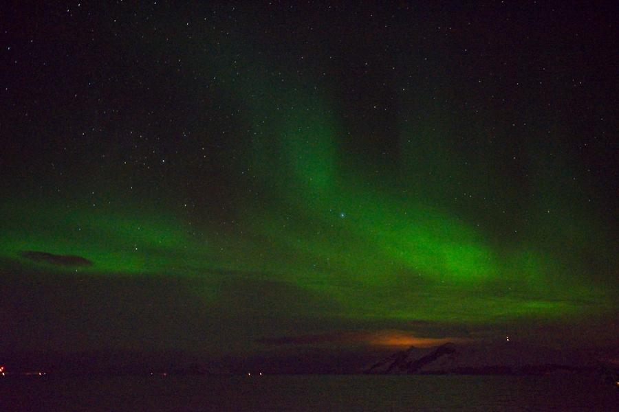 Aurora boreal, febrero 2020