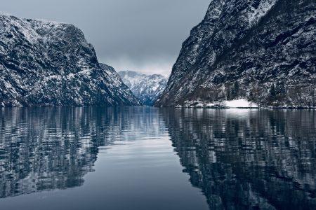 Fiordo de Nærøy, febrero 2020