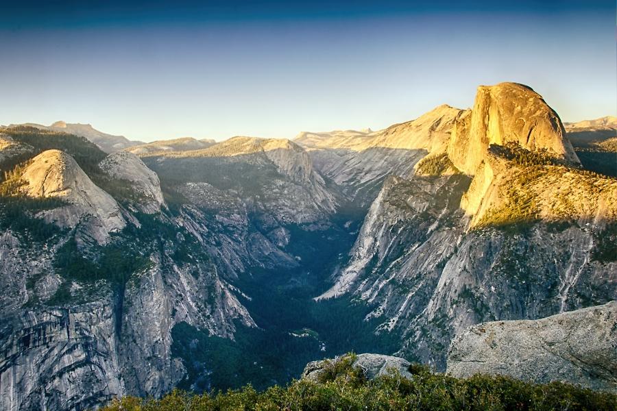 Yosemite desde Glacier Point, junio 2012