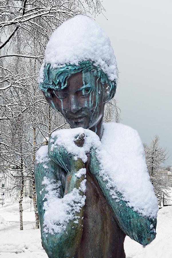 Frio, Tromsø, febrero 2020