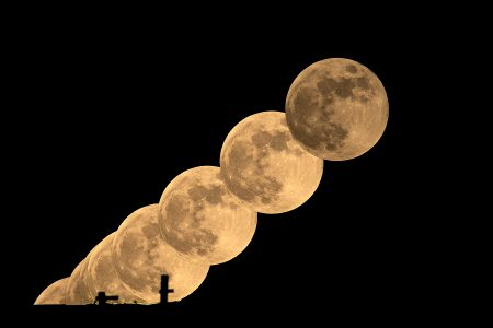 Luna llena 5 de junio de 2020