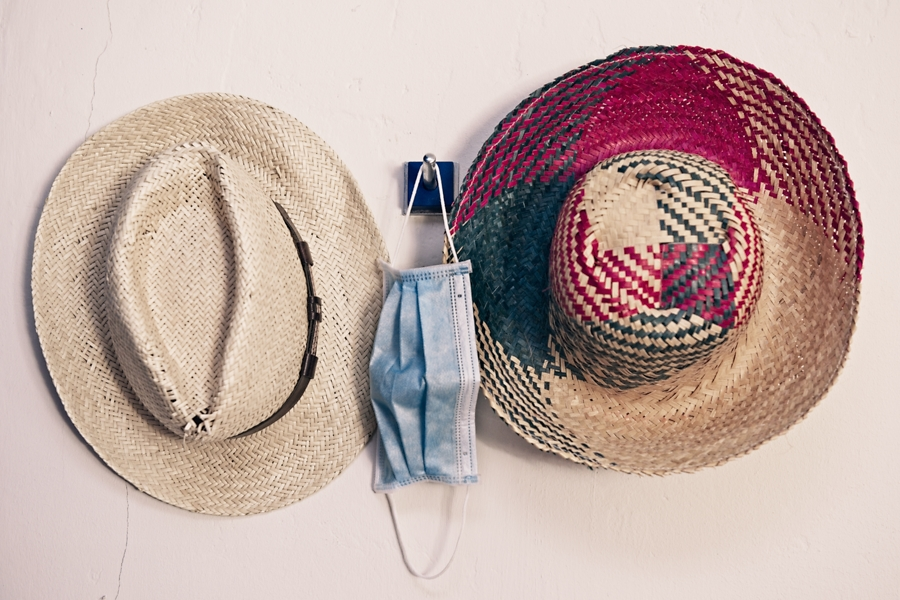 Complementos de playa, agosto 2020