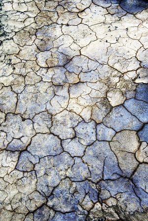 Tierra fracturada, Bardenas Reales abril 2019