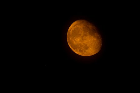 Luna de agosto,  2021