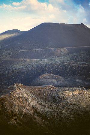 Teneguía, La Palma, enero 2005