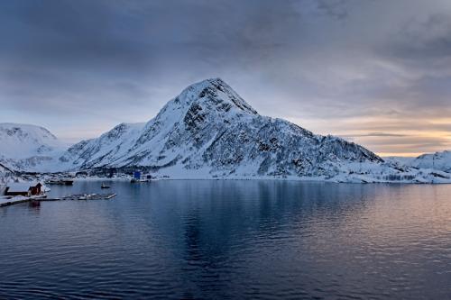 Luz y paisaje del círculo polar ártico